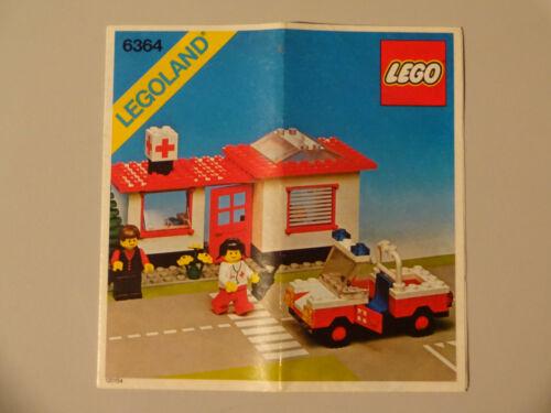 SR5 LEGO  BAUANLEITUNGEN 6362 6364 6363 6365 6372 6647 6678 6683 6685