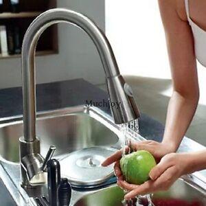 Armatur-Kuechenarmatur-Wasserhahn-Spueltisch-Mischbatterie-Einhebelmischer-Mode