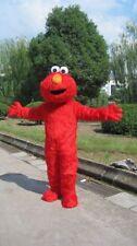 Hot Sesame Street Red Elmo Monster mascot costume Cartoon Fancy Dress Free Ship