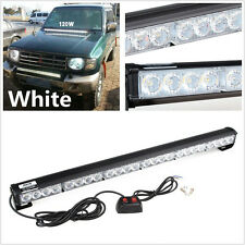 White 24 LED Emergency Strobe Safety Warning Light Bar For Jeep Grand Cherokee