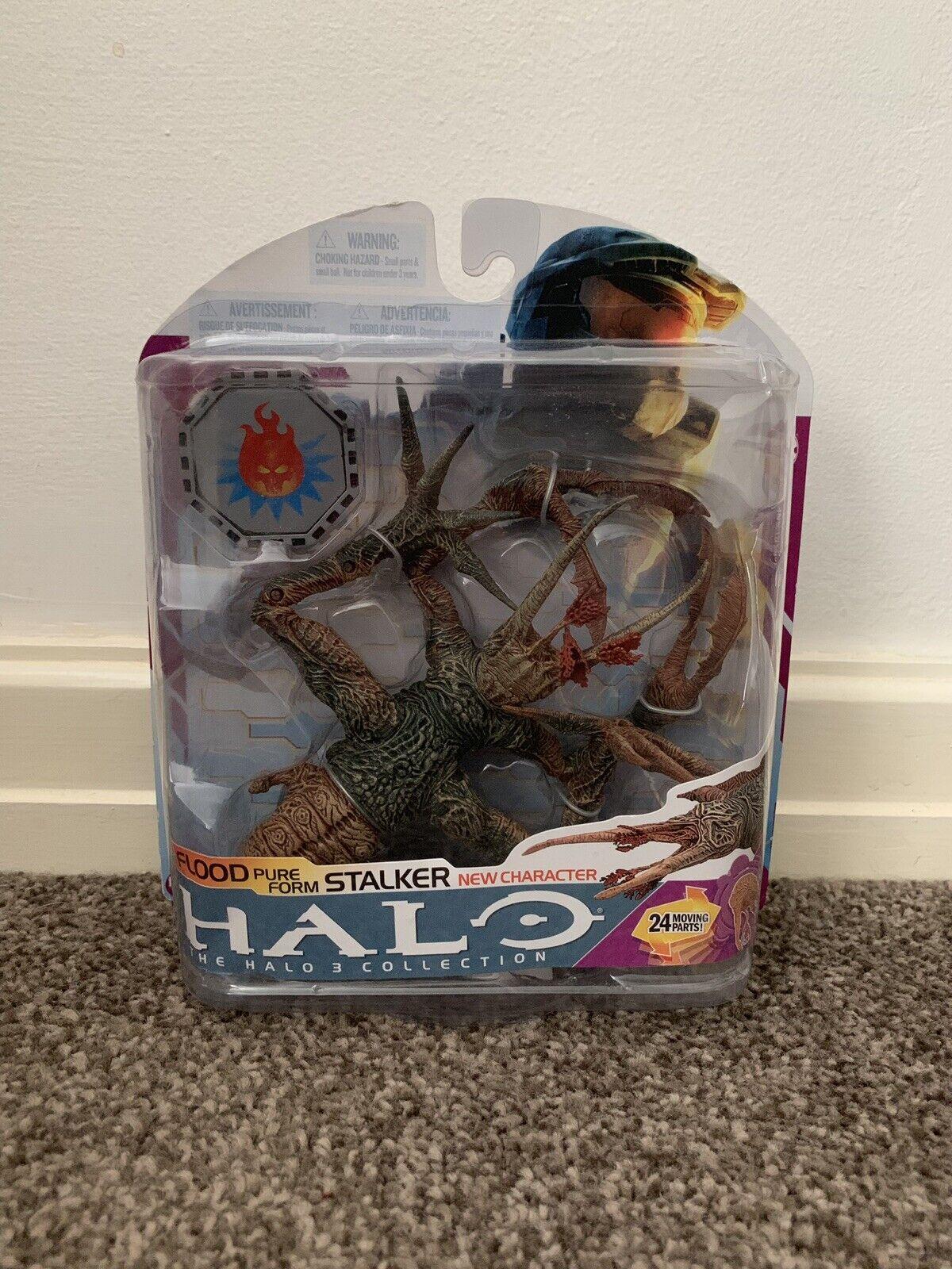 Halo 3 McFarlane Serie 6-forma de inundación Stalker puro (totalmente Nueva, rara, VHTF)
