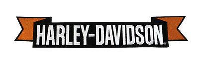 "HARLEY DAVIDSON H-D ROCKER  11 7/8""W x 2 1/4""H HARLEY ROCKER PATCH"
