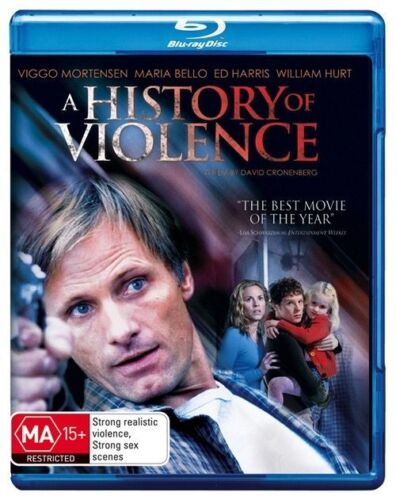 1 of 1 - Cronenburg's A History of Violence Region B Blu-ray, As New. Free Postage