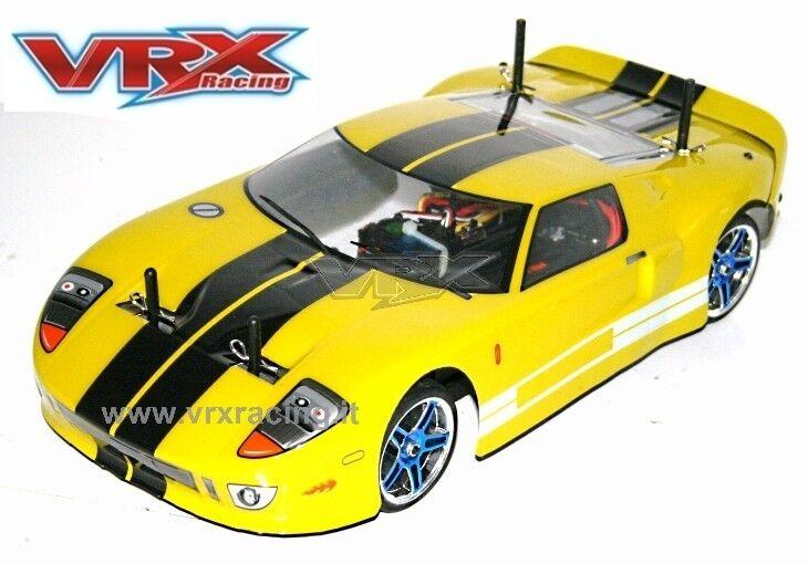 X-RANGER GT BRUSHLESS BATTERIA LIPO 7,4V RADIO  2.4 + KIT LUCI 1 10 4WD VRX 1026Y  miglior prezzo migliore