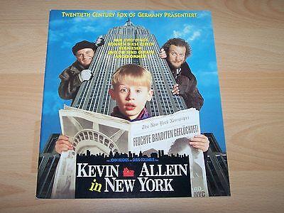 Presseheft ´92 Macauley Culkin FäHig Kevin Allein In New York