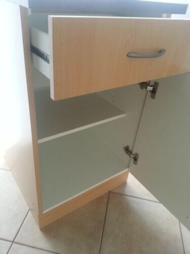 Unterschrank MANKABOX Weiß mit Arbeitspl BxT 40cm breit//50 tief Küche Mehrzweck