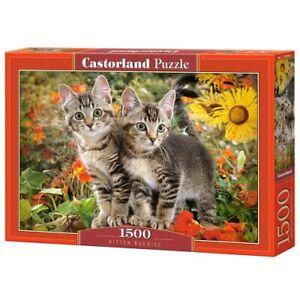 Castorland C-151899-2 - Kitten Buddies, Puzzle 1500 Teile - Neu