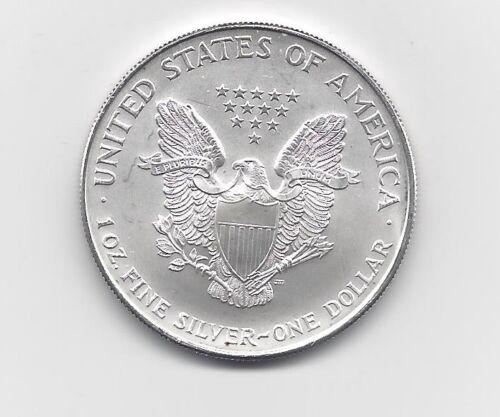 One Troy oz .999 Bullion 1995-1 oz American Silver Eagle Coin