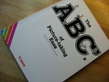 """Genuine  Canon """"The ABC of Picture Taking Ease"""" Book"""