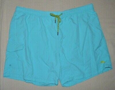 Tommy Bahama Men/'s XL Aqua Blue The Naples Happy Go Cargo Swim Trunks Shorts