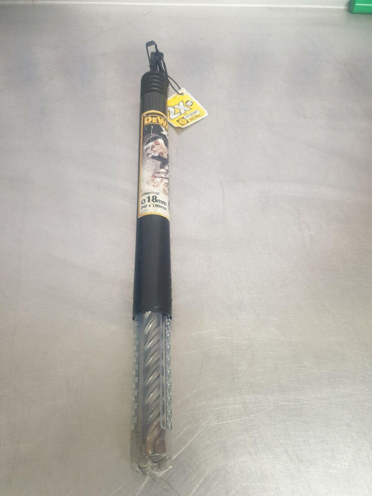 DeWalt XLR 4 Cutter Head SDS Drill Bit 8mm 210mm Pack of 1 DT8924