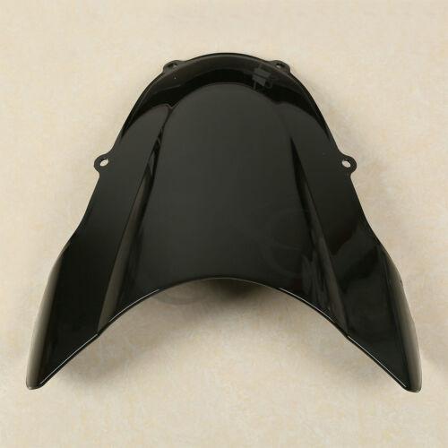 Dual Bubble Windshield Windscreen For Suzuki GSXR GSX-R 600 750 1000 2001-2002