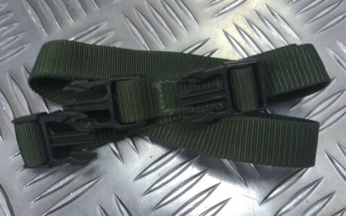 Genuine British Military Issue Green SSPY Strap 2cm Side Pouch Yoke Strap Q//R