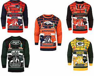 image is loading nfl 3d mens ugly christmas sweater