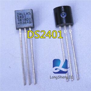 5PCS-DS2401-TO92-Nuevo