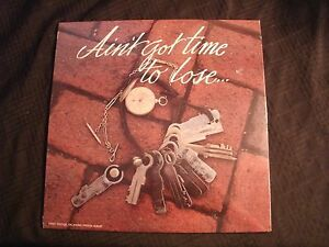 Ain-039-t-Got-Time-To-Lose-Oklahoma-Prison-1980-Vinyl-12-039-039-Lp-Sealed-Country