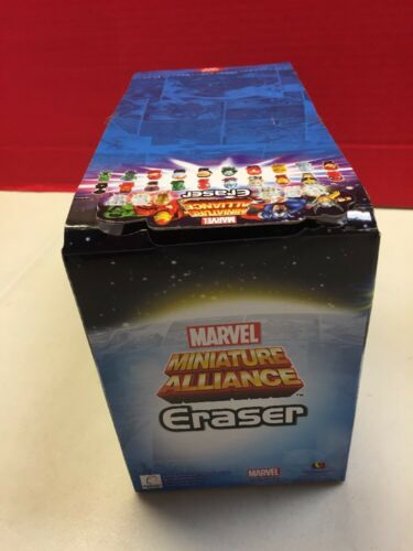 Marvel Miniature Alliance Eraser Gashapon Balls Sphere 40 Pc Lot