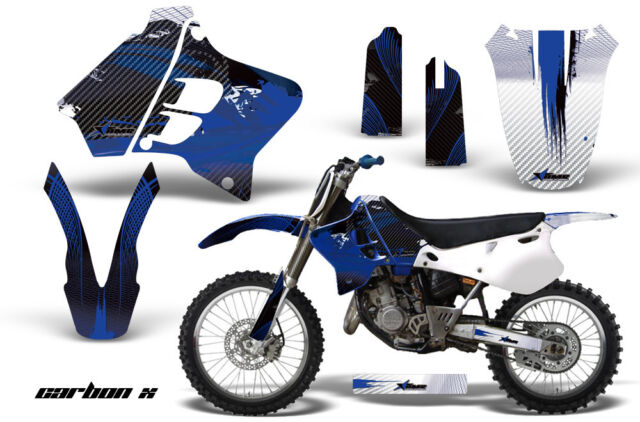 Dirt Bike Graphic Kit Decal Sticker Wrap For Yamaha YZ125 YZ250 93-95 CARBONX U