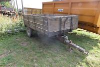 5 ton Tipping Trailer Grain Muck Dung Weeks Marston £800 + VAT