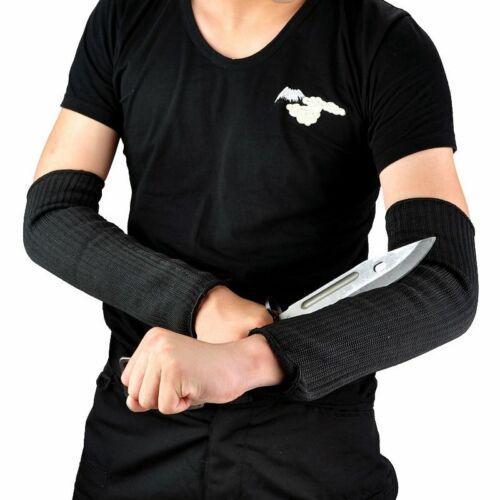 1 Paar Steel Wire Security Anti Cut Schnitt Arm Schutz Armschützer Armschienen