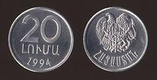 ARMENIA 20 LUMA 1994 FDC/UNC FIOR DI CONIO