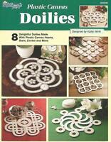 Plastic Canvas Doilies Instruction Patterns Hearts Stars Circles Square Tns