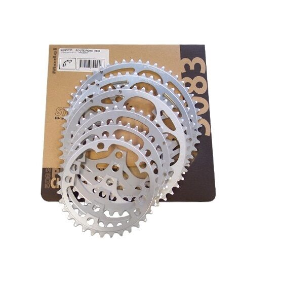STRONGLIGHT DURAL SILVER 110BCD SHIMANO 9 10 CHAINRING   36T