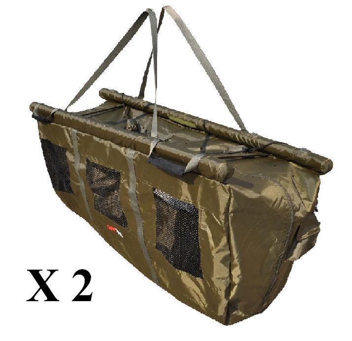 2 x Floatation Weigh Slings with Stink Bags, Carp Care,Weighing, FREE P&P SALE