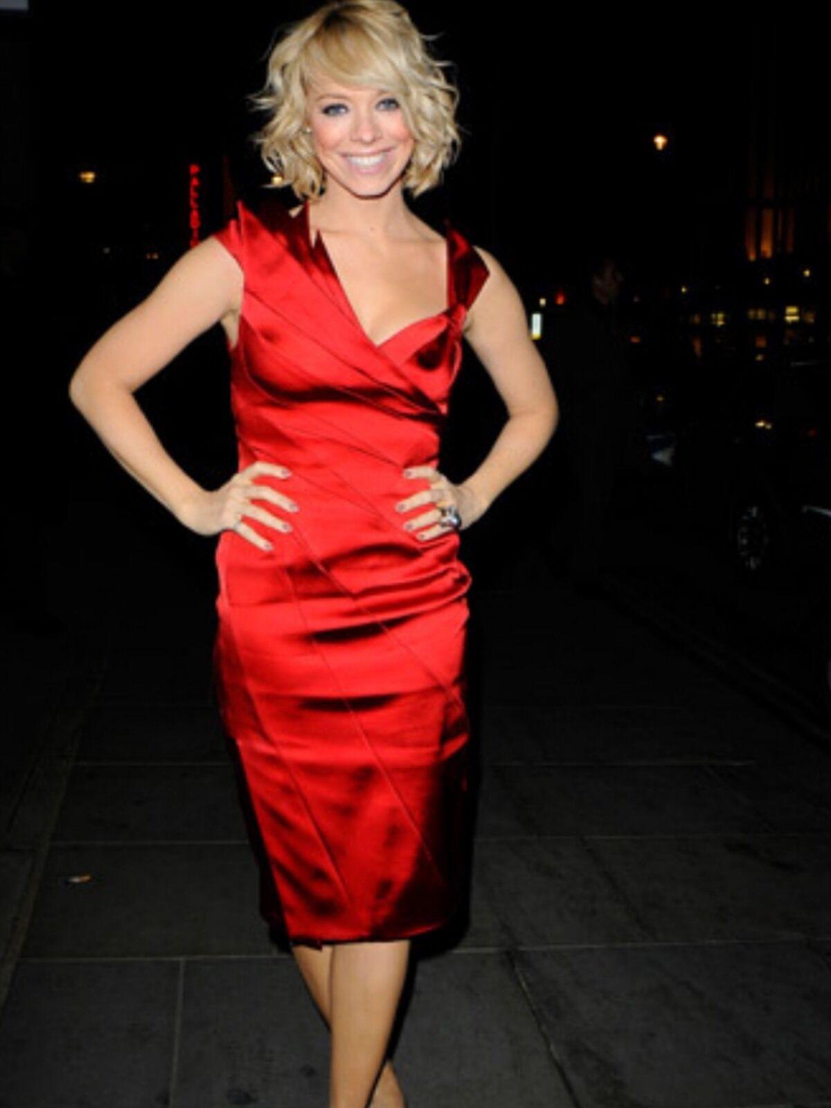 KAREN MILLEN RED DRESS 12. STUNNING