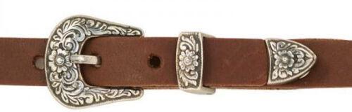 """Diablo Hatband Buckle Set in Antique Nickel 3//8/"""" 7601-00"""