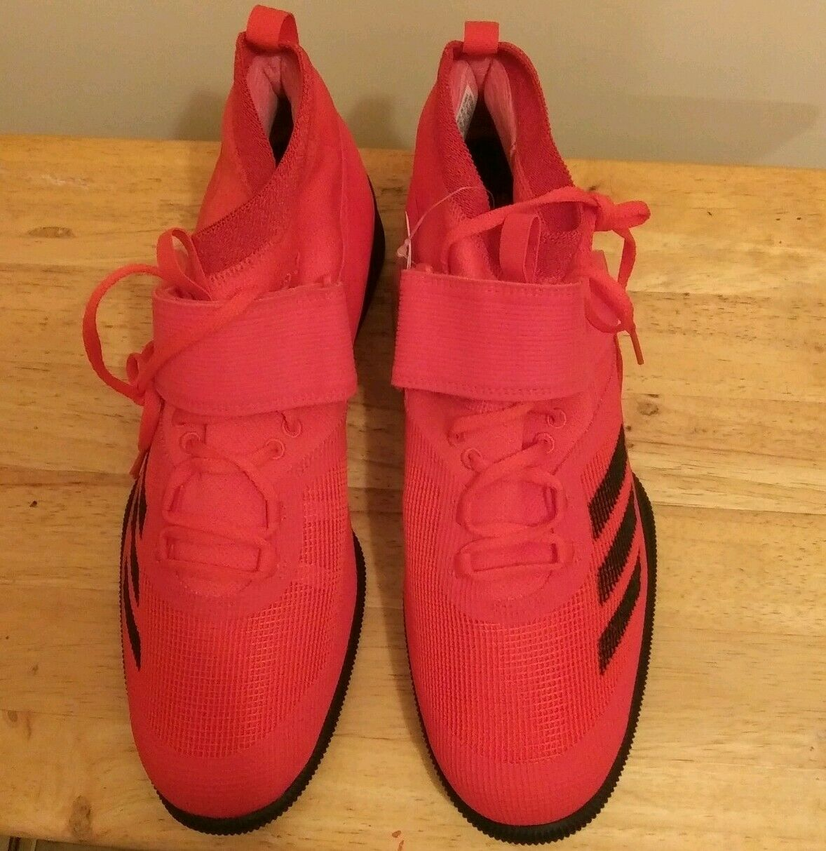 Men's Red Adidas Size 14 Brand New