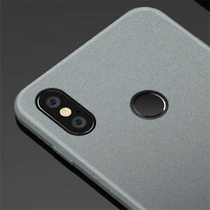 For-Xiaomi-Redmi-Note-6-Pro-S2-8-6A-Slim-Matte-Shockproof-Soft-Silicone-TPU-Case
