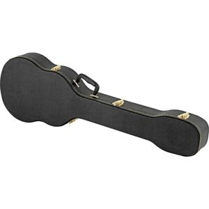 Musician-039-s-Gear-Electric-Bass-Case-Violin-Shaped-Black