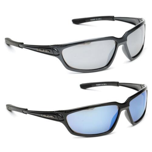 Mens Designer Wrap Around Black Mirror Biker Mirrored Reflective Sunglasses New