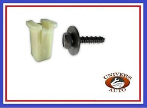 10X-FIXATIONS-PARE-CHOC-RESERVOIR-LAVE-GLACE-SEUIL-FORD-11500996-90BG17K657AA