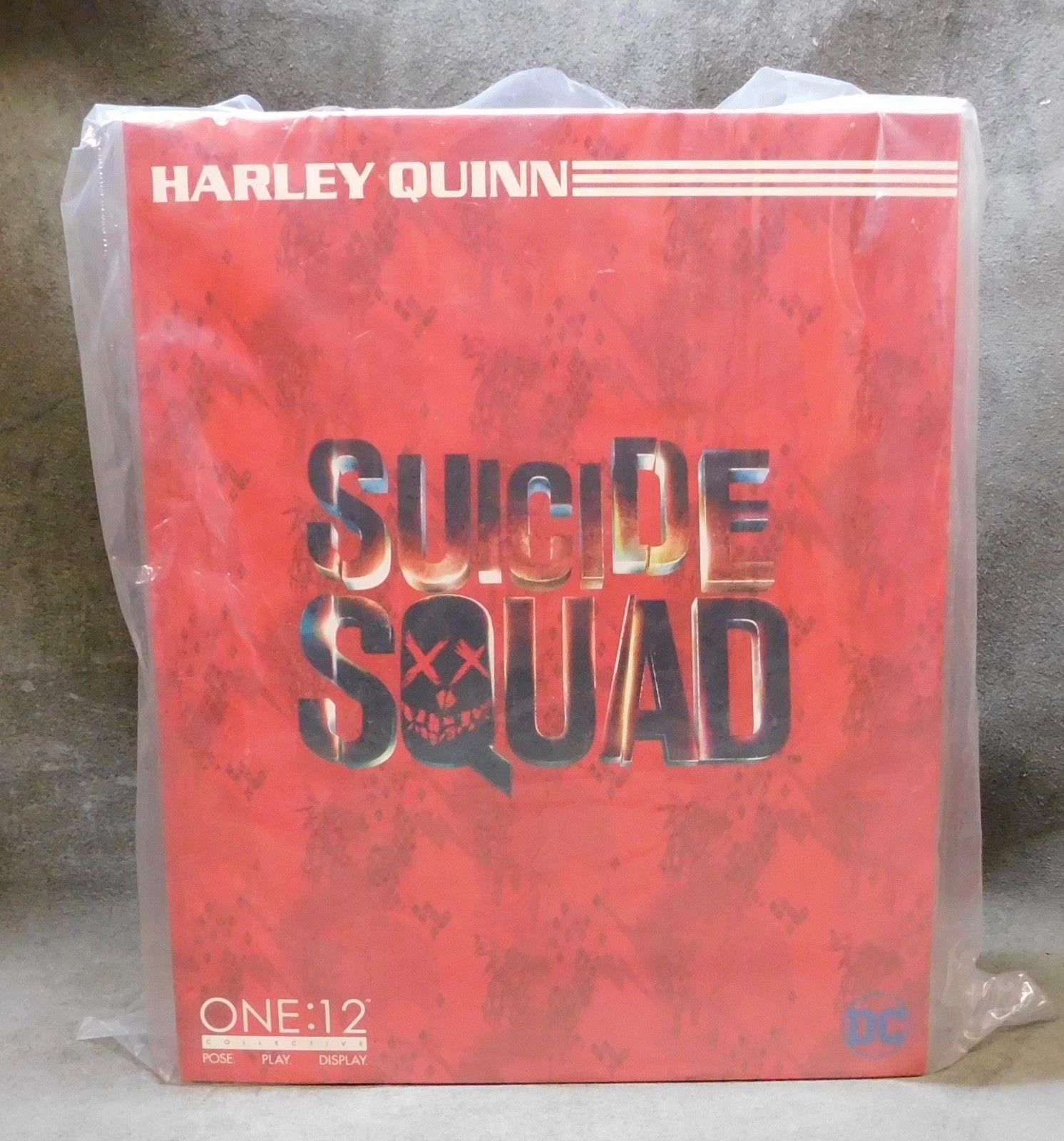 ONE 12 DC Suicide Squad Harley Quinn Margot Robbie Action Figure Mezco 1 12 rare