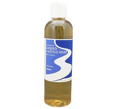 WILLOWS LIQUID CASTILE SOAP MULTIPURPOSE 100% NATURAL UNSCENTED 250ml