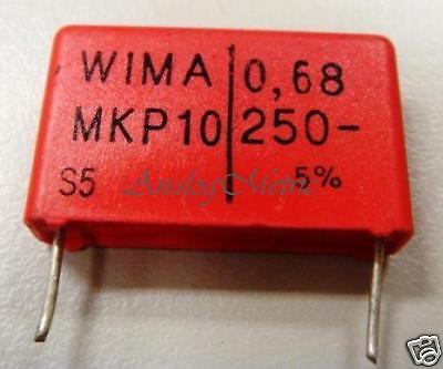 WIMA MKP4 10uF //250V Capacitor 2PC