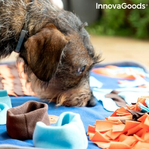 Esterilla de Juegos y esconder premios para Mascotas Perros 75x50 cm poliéster