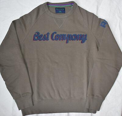 BEST COMPANY 1982 Felpa Girocollo 692010 in MILITAIRE Varie Taglie