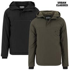 M S Herren Xxl Padded Classics Winterjacke Xl Pull Over Urban Jacket L Jacke CSBHaF