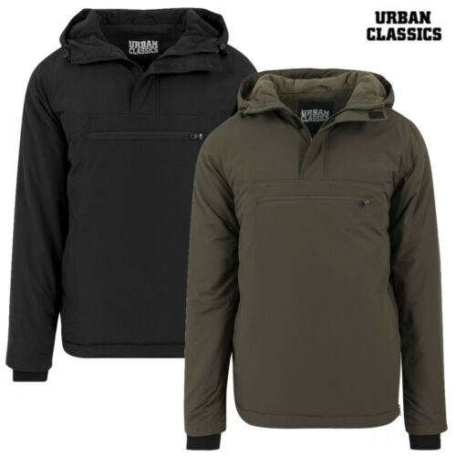 Urban Classics Herren Jacke Padded Pull Over Winterjacke Jacket S M L XL XXL