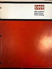 Caseih 960 Combine Parts Catalog