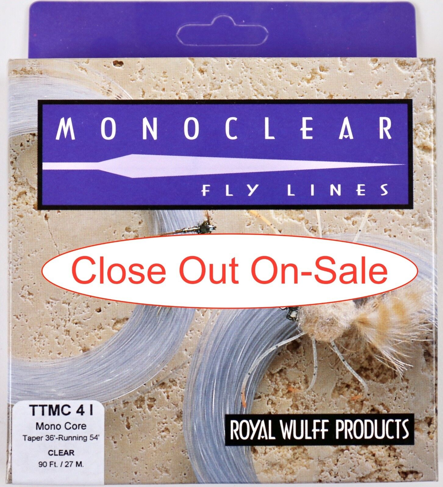 Royal Wulff Triangle Taper Monoclear Intermediate 4 WT Fly Line TTMC4I