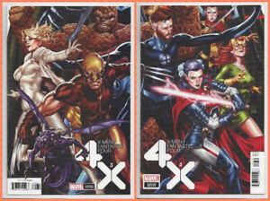 X-MEN-FANTASTIC-FOUR-3-amp-4-CONNECTING-VARIANT-SET-of-2-1st-PRINT-2020-NM-NM