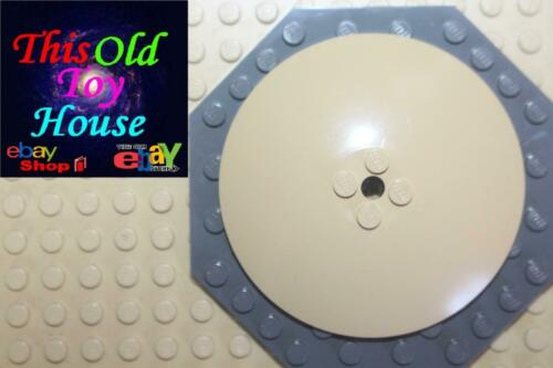 LEGO 3961 ROUND PLATE Satellite Dish 8X8 CHOICE OF COLOR//DESIGN PreOwned
