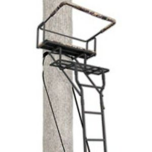 Ladder Tree Stand Big Game 15 Two Man Solid Steel 2 Seat