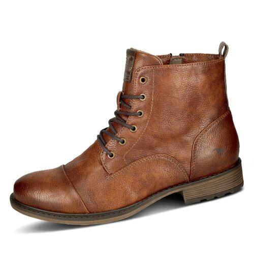 Mustang Damen Stiefelette Schnürstiefel Stiefel Winterschuhe Schnürschuh Schuhe
