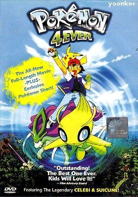 English Version Pokemon Movie 4 Pokemon 4ever Dvd Anime