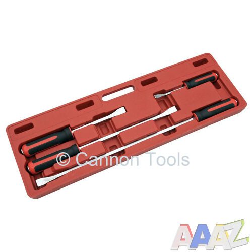 Heavy Duty Pry Bars professional 4pc heavy duty pry bar set with Storage Case